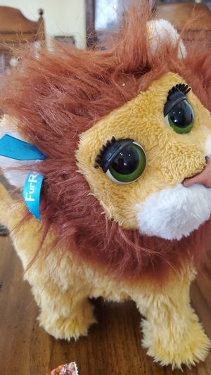 FurReal friends lion for Sale in Rialto, CA