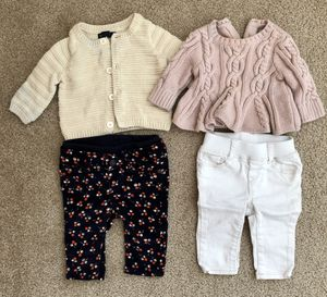 Baby girl clothes lot newborn to 3 mos for Sale in Everett, WA