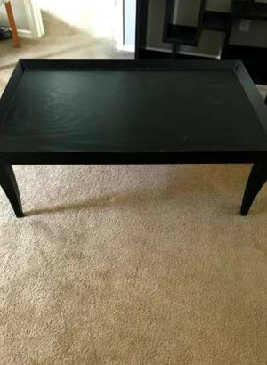 Crate and Barrel Black Coffee/Accent Table -Will Deliver for Sale in Denver, CO