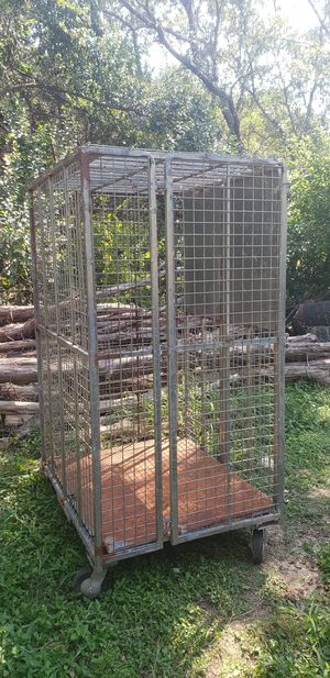 Large heavy duty collapsible cage for Sale in Canyon Lake, TX