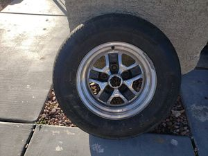 "14"" tires set of 4 off a 65 impala for Sale in Las Vegas, NV"