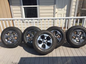 Jeep Wrangler wheels and tires for Sale in Auburn, WA
