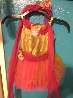 Outfit with a head piece. Stretch, 1size girls x-small2-4 & 1size girls small4-6.New for Sale in Fort Worth, TX