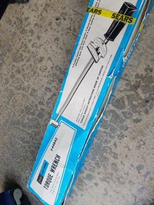 TORGUE wrench 1/2 for Sale in Marysville, WA