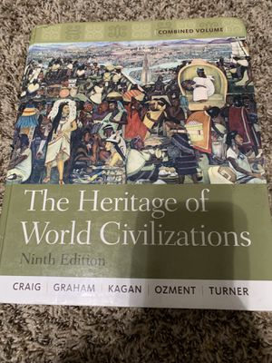 The Heritage of World Civilizations (9th Ed) for Sale in Fresno, CA