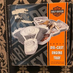 Harley Davidson Die Cast Engine Tray For Change Or Key Whatever for Sale in Baltimore, MD