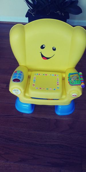 Fisher price kids learning chair. for Sale in Hyattsville, MD