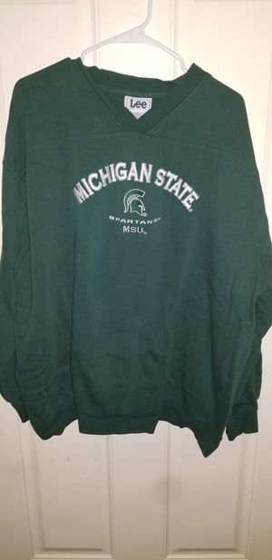 Michigan State Size 2XL Sweatshirt almost New for Sale in Taylor, MI
