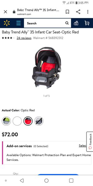 Baby trend double stroller and infant car seat for Sale in Colorado Springs, CO