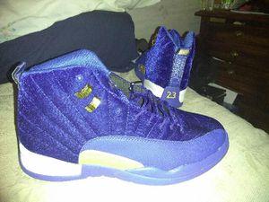 Size 13 Jordans: 12 Royal Blue Leather & Velvet for Sale in Las Vegas, NV
