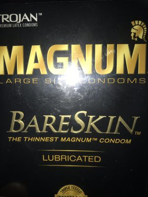 MAGNUM bareskin lubricated for Sale in Antioch, CA