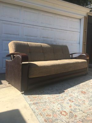 Futon with Storage for Sale in Los Angeles, CA