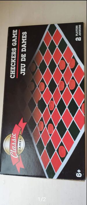 Checkers Board Game for Sale in Austin, TX