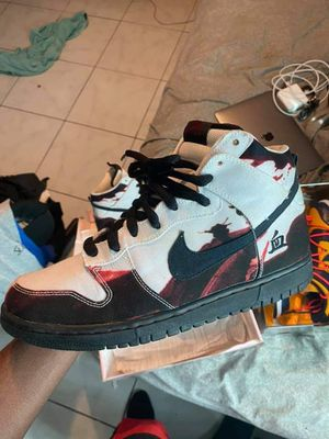Nike SB dunk high White Melvins for Sale in Fort Lauderdale, FL