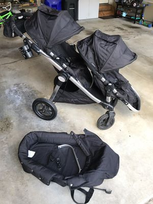 City Select Stroller (Double w/ infant carrier) for Sale in Columbia, MD