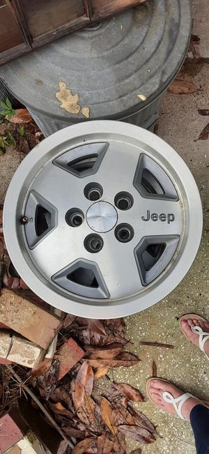 Jeep Silver Rims for Sale in Jacksonville, FL