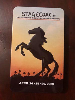 Stagecoach 2020 GA Ticket for Sale in Costa Mesa, CA