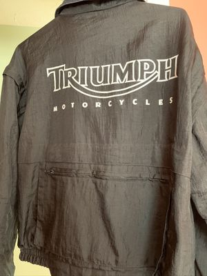 Triumph motorcycle jacket for Sale in Lancaster, MA