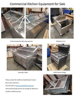 commercial kitchen appliances for Sale in Redlands, CA