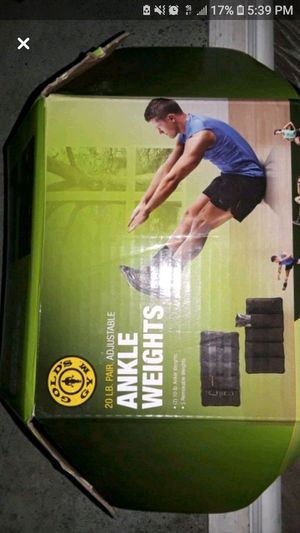 BRAND NEW ANKLE WEIGHTS for Sale in Buffalo, NY