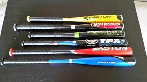Aluminium Baseball Bats Easton TPX Rawlings for Sale in Tempe, AZ