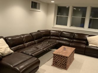 Leather Recliner Couch for Sale in Jenkintown,  PA
