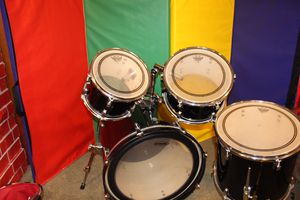 Black Ludwig Accent 4 piece drums for Sale in Canonsburg, PA
