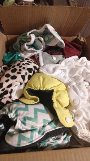 Cloth diapers newborn for Sale in Greenville, SC