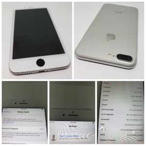 * NO TOUCH ID. BUTTON STILL WORKS. 32GB IPHONE 7 PLUS ORIGINALLY WITH VERIZON IN GREAT CONDITION FOR 200$ FIRM. for Sale in Oklahoma City, OK