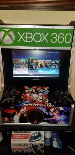 Xbox360 arcade homemade for Sale in Fort Worth, TX