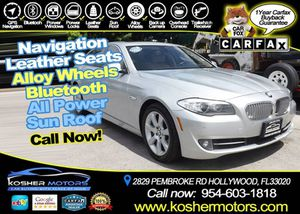 2011 BMW 5 Series for Sale in Hollywood, FL