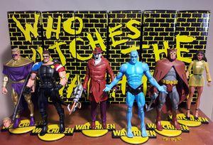 The Watchmen Action Figure Lot dc comics toys for Sale in Marietta, GA