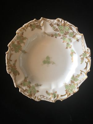 Limoges France Seafoam Green and Gold Dish for Sale in Alexandria, VA