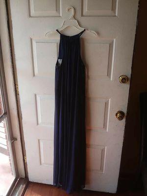 Dark blue David bridal dress for Sale in Lawrenceville, GA