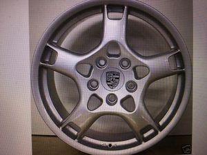 Porsche Carrera 997 original 19 inch front wheel OEM# 99736215600 (Gold Coast) for Sale in Chicago, IL