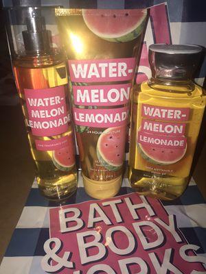 "NEW Bath & Body Works Set ""Watermelon Lemonade"" for Sale in Highland, CA"