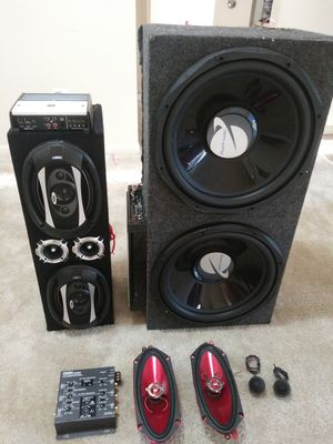 Car audio sistem for Sale in Gaithersburg, MD