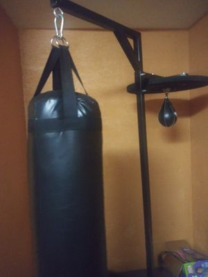 Punching bag speed bag and sand bag for Sale in Los Angeles, CA