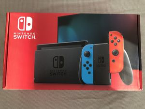 Nintendo Switch - Neon Blue & Neon Red for Sale in Missouri City, TX