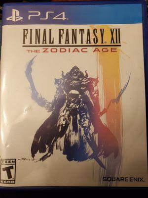 Final Fantasy 12 PS4 for Sale in Seattle, WA