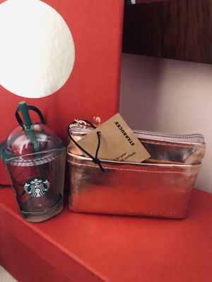Starbucks CC/Coin Holder & Limited Edition No Longer Made Starbucks Frappuccino Ornament Both NWT's for Sale in Sudley Springs, VA