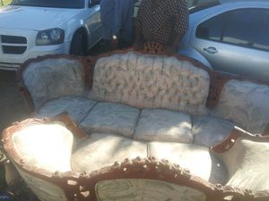 Antique furniture love seat coaches for Sale in Bakersfield, CA