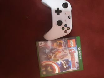 Xbox One S Controller With Xbox Lego Marvel Avengers Game for Sale in Mount Rainier,  MD