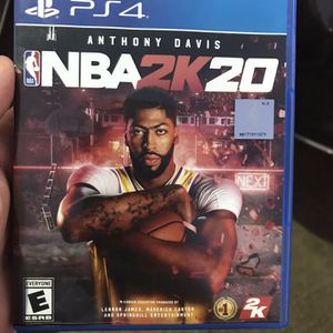 NBA2k20 PS4 for Sale in Duncanville, TX