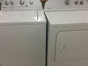 Washer and dryer set or separate 4 months warranty for Sale in Alexandria, VA