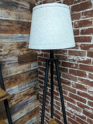 Triangular Shape Floor Lamp with small Shelves for Sale in Chino Hills, CA