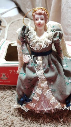 Antique 1/2 Victorian Lace Angel Tree Top for Sale in Arlington Heights, IL