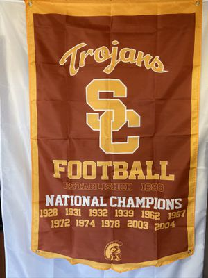USC Trojans Champions Wall Banner (3'x5') for Sale in Mokena, IL