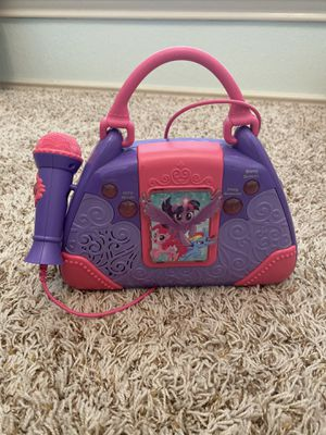 My Little Pony Sing Along Boombox for Sale in Pflugerville, TX