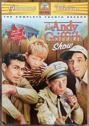 DVD, Andy Griffith complete 4th season for Sale in Virginia Beach, VA